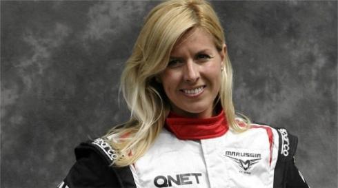 F1-talli Marussian testikuski Maria De Villota