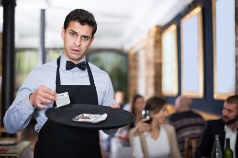 huono palvelun illalliselämys